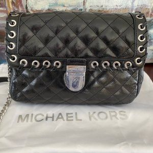MICHAEL KORS Sloan Large Quilted-Leather Shoulder
